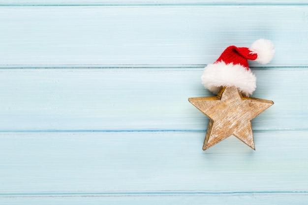 クリスマスの装飾とヴィンテージのクリスマスの背景
