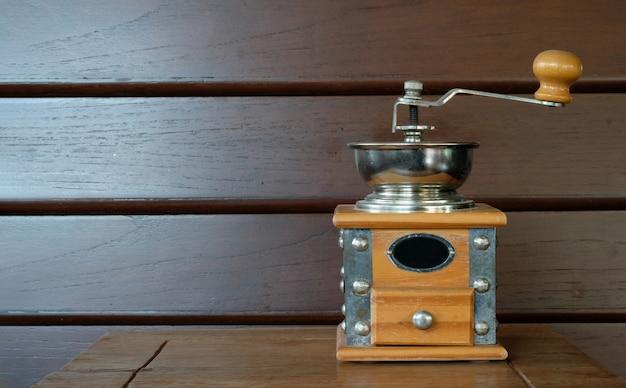 Vintage coffee grinder