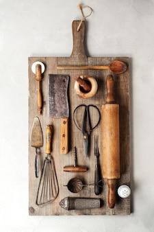 Vintage cooking utensils