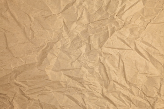 Vintage crumpled recycled paper background