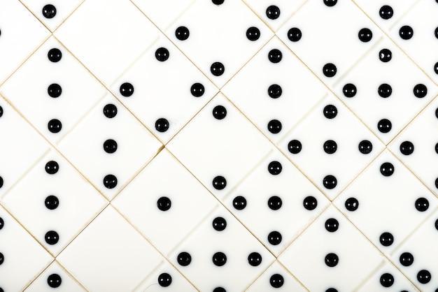 Винтажные узоры домино фоновое изображение