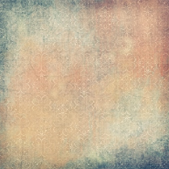 Старинный фон ткани с вышитым ретро узором