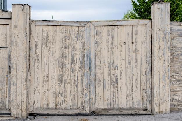 Старинный забор