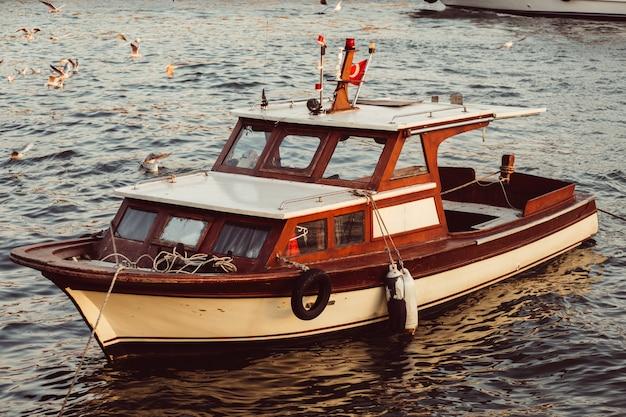 Vintage fishing boat