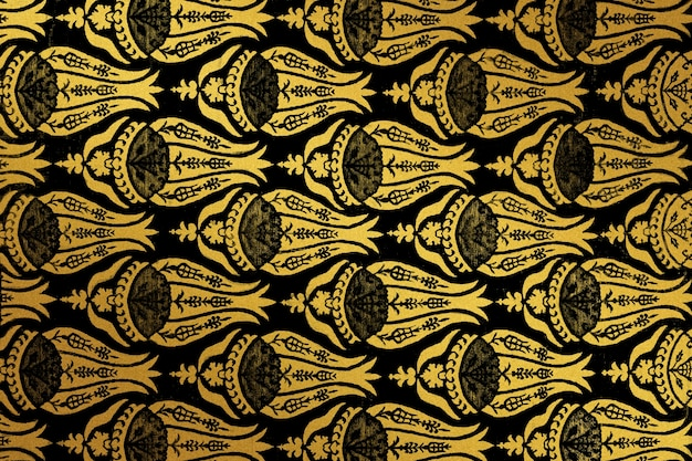 Vintage flower pattern remix from artwork by william morris