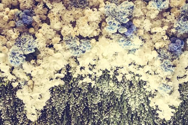 ヴィンテージの花のテクスチャ