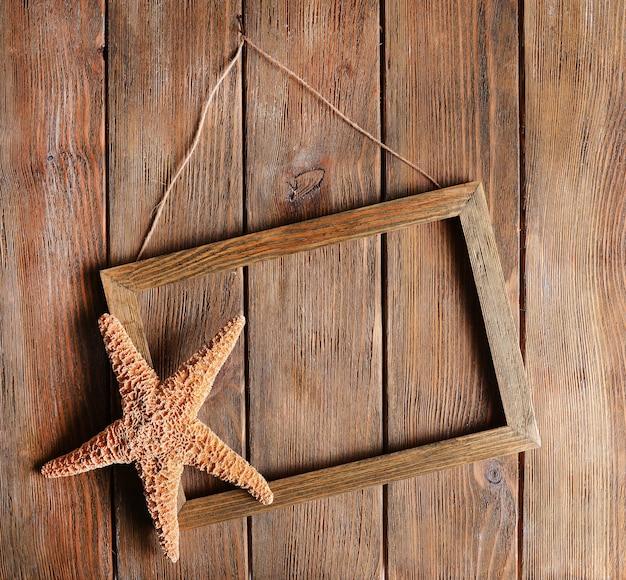 木製のヴィンテージフレーム