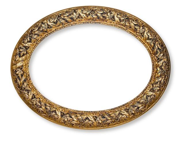 Vintage gold frame