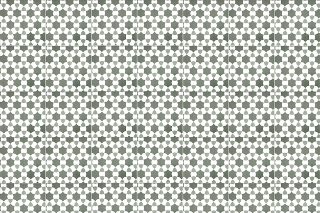 Vintage gray ceramic tiles wall decoration. turkish ceramic tiles wall background