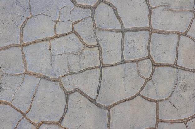 ビンテージ グレー コンクリート壁の背景