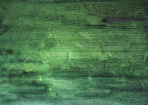 Текстура поверхности старинного зеленого дерева