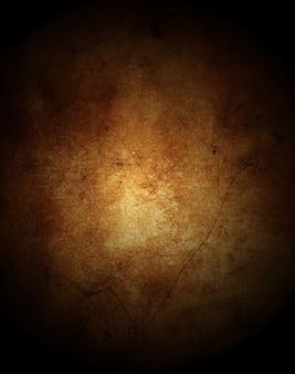 感嘆符と汚れとヴィンテージグランジ背景