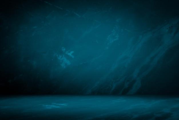 ヴィンテージグランジ青い大理石の背景