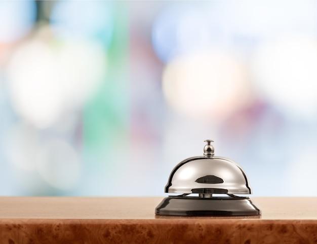 ヴィンテージホテルの受付サービスデスクベル。