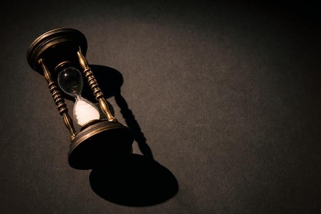Vintage hourglass or sandglass