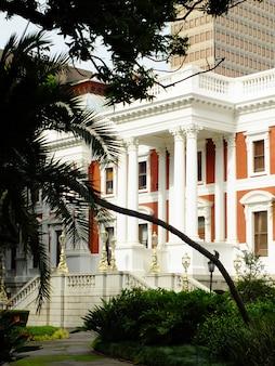 Старинный дом в центре кейптауна, южная африка