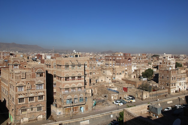 The vintage house in sana'a, yemen