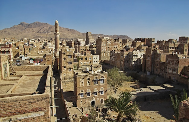 The vintage house in sana'a, yemen