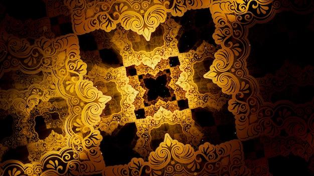 이슬람 패턴 및 라마단 장면에서 벽지에 대한 빈티지 이슬람 패턴 배경