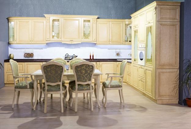 Vintage kitchen interior
