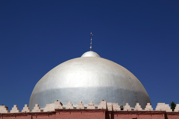 The vintage mosque in omdurman, khartoum, sudan