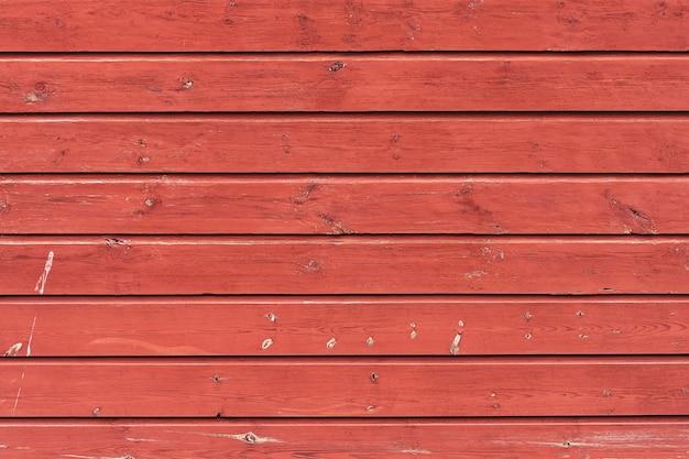 ヴィンテージの古い木製の赤い背景。抽象的な背景。上面図、コピースペース