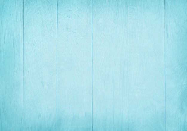 Vintage painted wooden wall background, texture of blue pastel color
