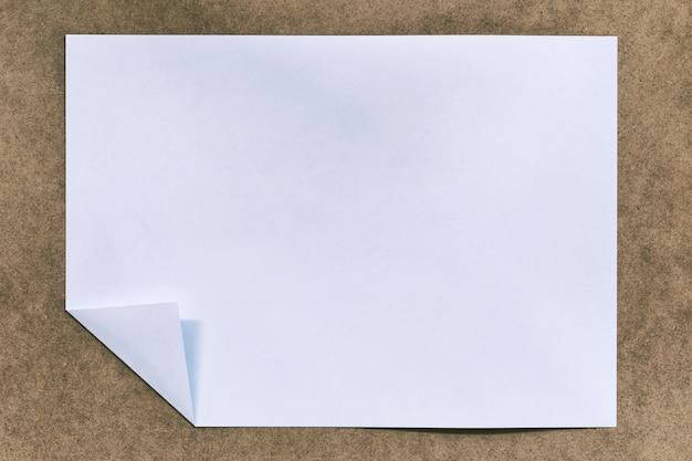 빈티지 종이 배경, 작업의 디자인을 위한 검은색 아트지.