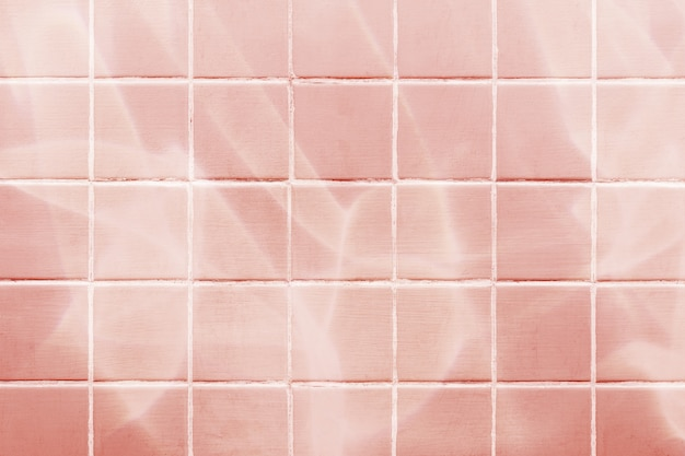 Vintage pastel tiles background