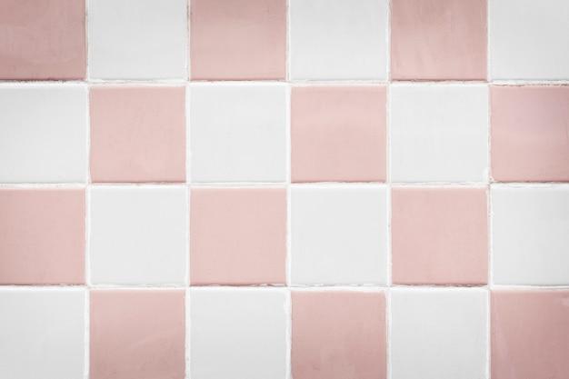 Vintage pastel tiles background