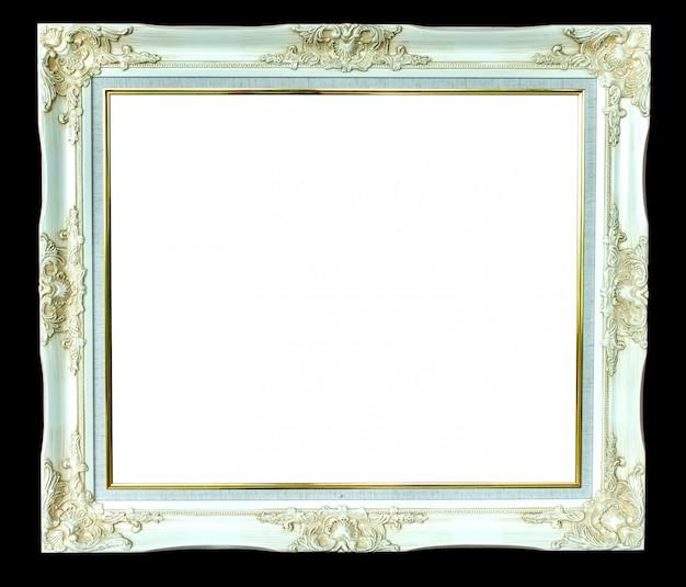 分離されたビンテージ写真フレーム