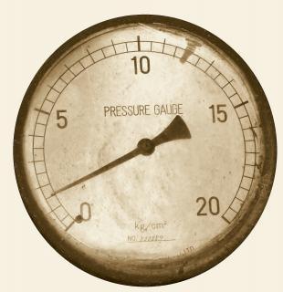 ヴィンテージ圧力計