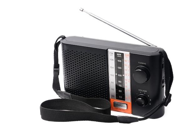 ラジオ番組を聴くためのビンテージラジオ