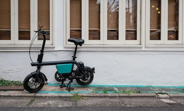 Vintage small black bicycle