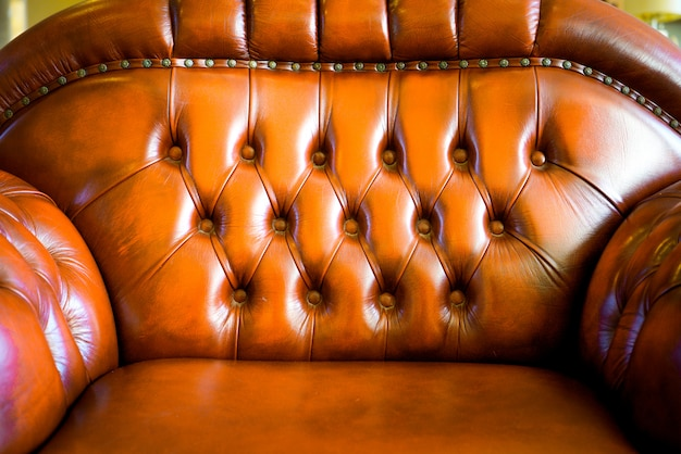 Vintage sofa texture background