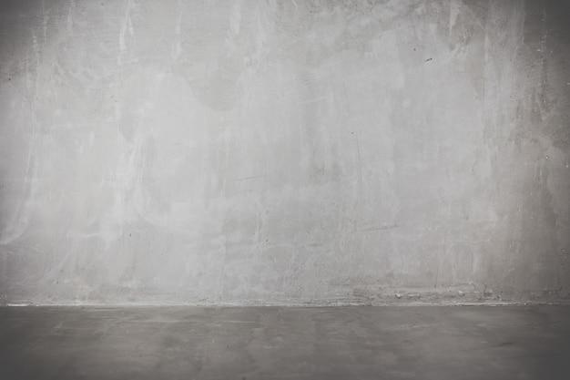 콘크리트 방 배경의 빈티지 스타일입니다.