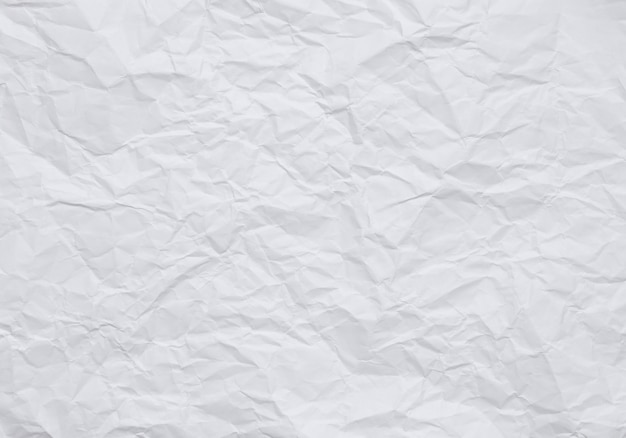 Vintage style wallpaper, crumpled white paper background with textures