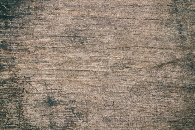 Vintage surface wood table and rustic grain texture background. close up of dark rustic wall.