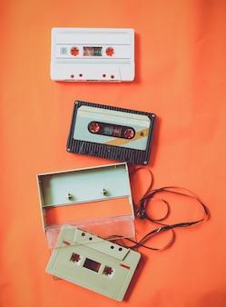 Vintage tape cassette recorder