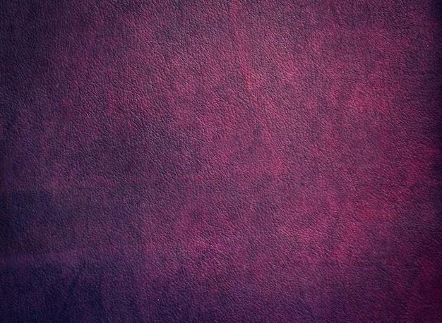 Vintage texture burgundy fragment of leather