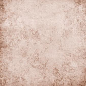 공간 복사본이 있는 배경 및 텍스트에 대한 오래된 갈색 종이의 빈티지 질감 프리미엄 사진