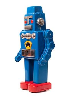 빈티지 깡통 로봇 장난감