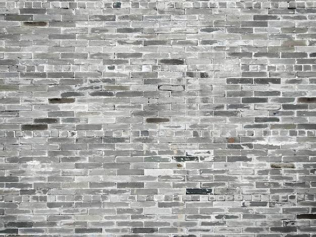 Винтажная мытье текстуры кирпичной стены для дизайна. панорамный фон для вашего текста или изображения. серый фон текстуры кирпичной стены. плиточный.