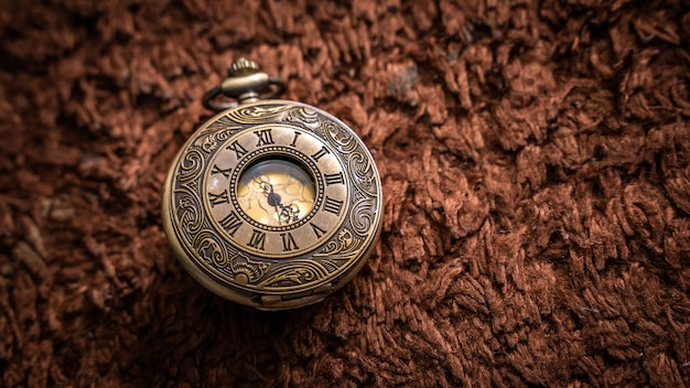 Vintage watch pendant