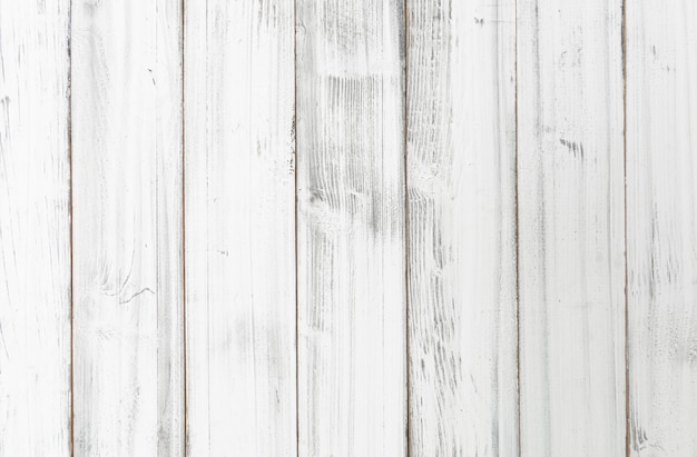 Vintage white wooden board background