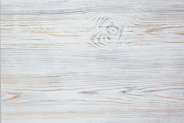 Винтажный белый деревянный стол, текстура.