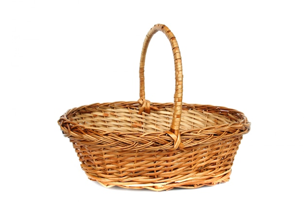 Vintage willow basket