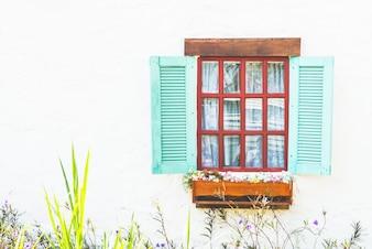 Opened Window Door Of Glasses Icons
