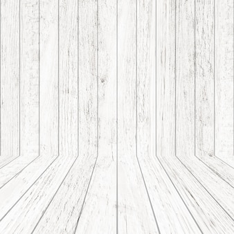 Vintage wood pattern texture in perspective view for background. empty wooden room background.