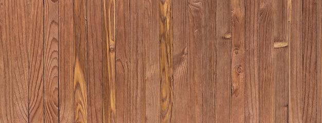 Старинный деревянный фон, потрепанная текстура древесины. широкоэкранный панорамный вид
